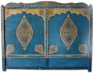 azrak headboard.....i love moroccan style....