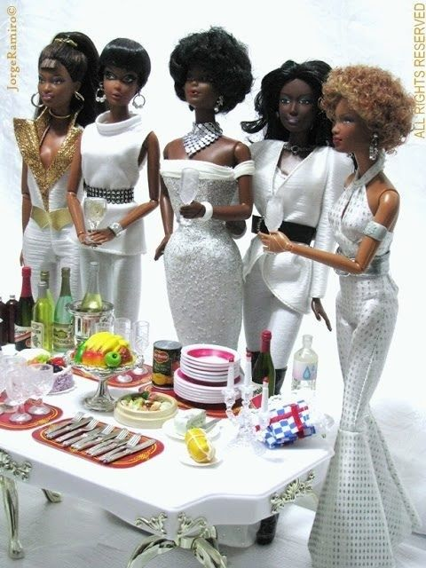 THE BLACK DOLL LIFE — (via dressed in white | Fashion Doll Island)