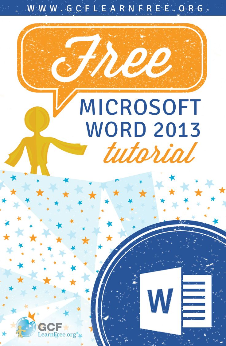 Free tutorial about #Word 2013's powerful tools to create professional and eye-catching documents both for print and online sharing. From @GCFLearnFree.org.