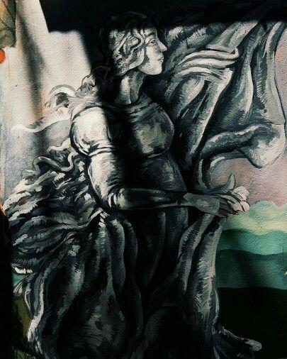 Johnny Allison art drawing doodle painting woman women paint renaissance