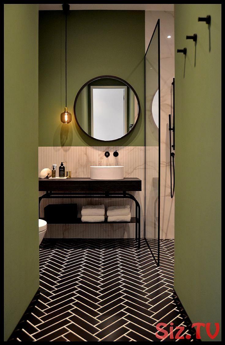 Badezimmer Design Amsterdam Grachtenhaus von Ann-Interiors