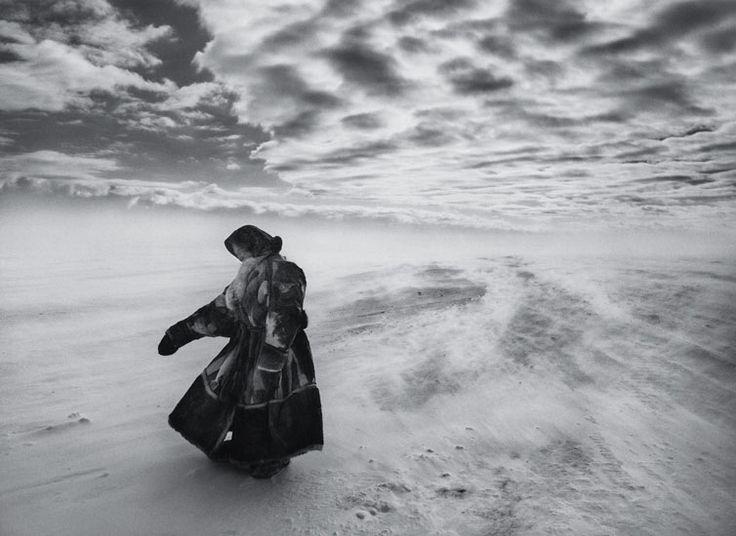Sebastião Salgado in Siberia  The Nenets of northern Siberia live at temperatures of -35C