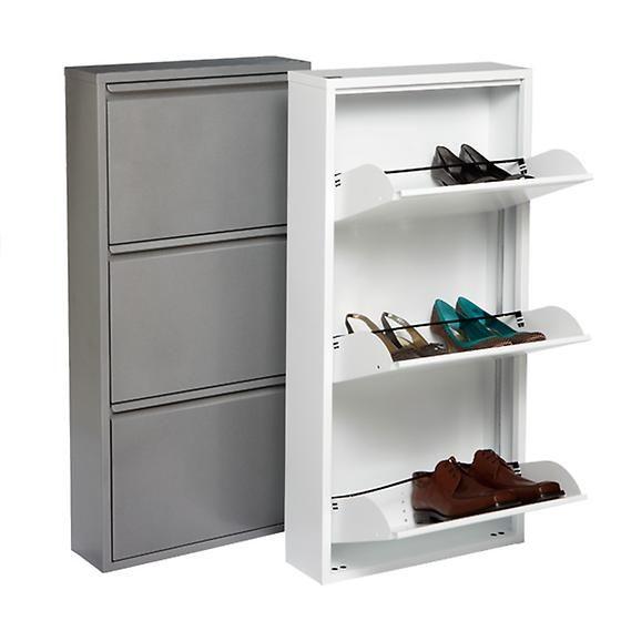 3-Drawer Shoe Cabinet