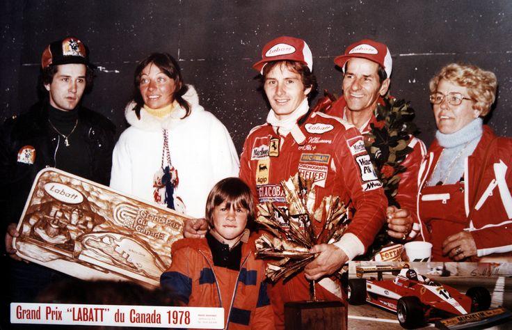 La Famille VILLENEUVE, Grand Prix du Canada 1978