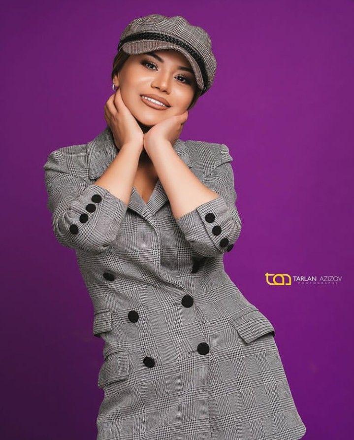 Turkan Velizade Fashion Coat Peacoat