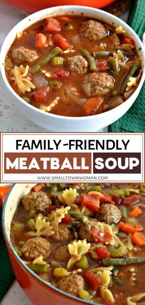 Apr 6, 2020 – This family friendly tasty Meatball Soup is the perfect comfort food dinner idea perfect for the cold weat…