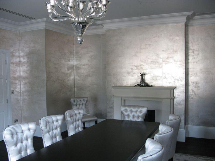 Best 25 metallic wallpaper ideas only on pinterest for B q dining room wallpaper