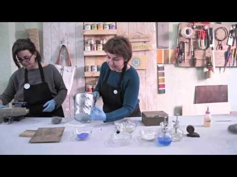 Patinas sobre Metales y oxidación - YouTube
