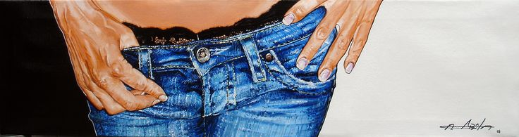 Hyperréalisme acrylique sur toile 25cm x 80cm www.a-abyla.com