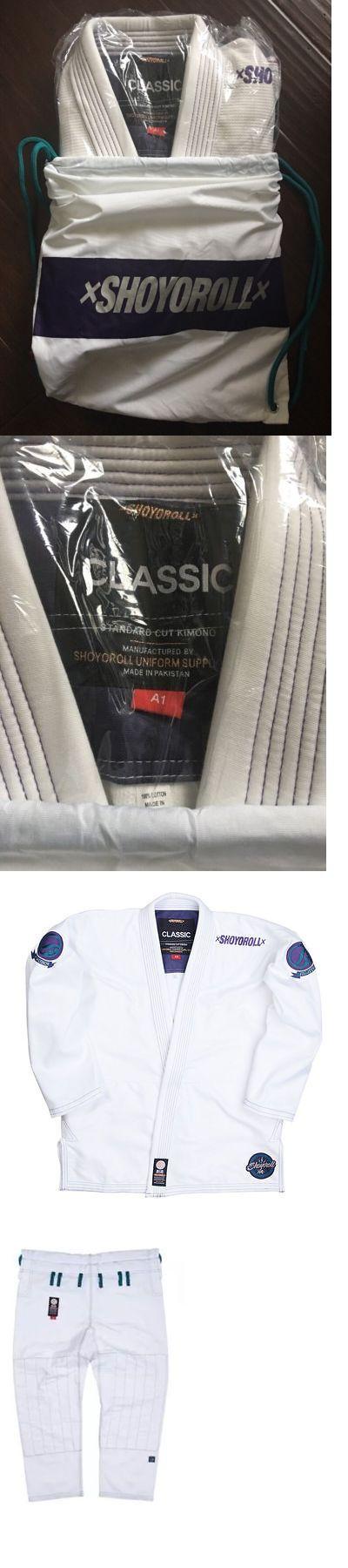 Other Combat Sport Clothing 73988: Shoyoroll Comp Xv Winter White A1 ***Bnib*** Bjj Kimono -> BUY IT NOW ONLY: $285 on eBay!