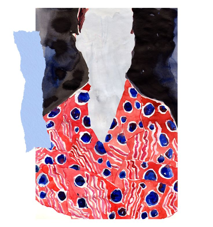Carven 2016 SS Illustrated by Eunjeong Yoo