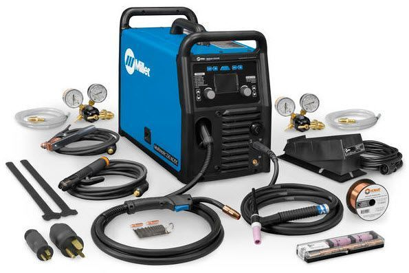 Meet The New Multimatic 220 Portable Multi Process Welder With Ac Tig Capabilities Welding Projects Miller Welding Welding