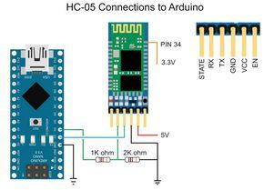 Arduino with HC-05 (ZS-040) Bluetooth module – AT MODE | Martyn Currey