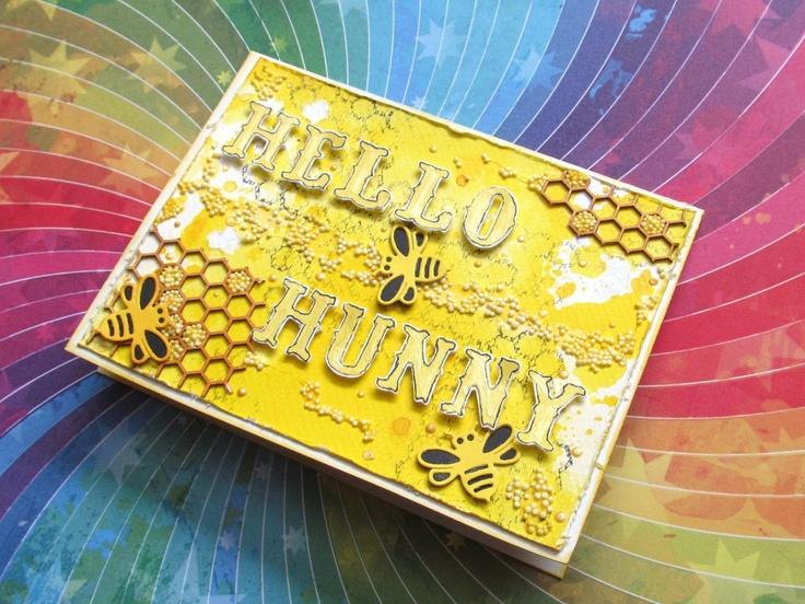 Great box by fejferek with 3rd Eye stamps <3 http://3rdeyecraft.com/ <3 #stamping #stamp #craft