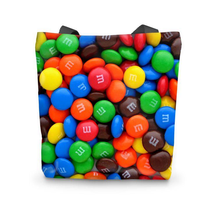 Marble Chocolate Tote Bag