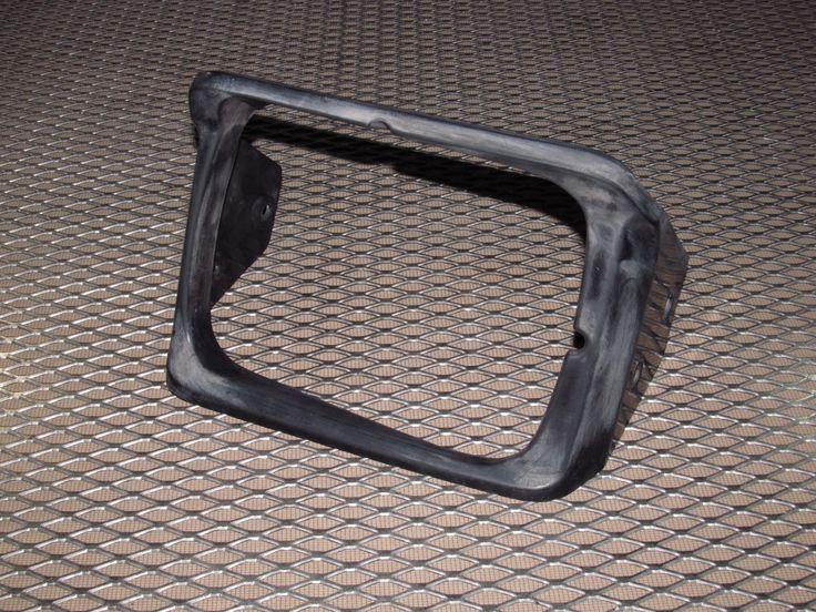 89 90 91 92 Toyota Supra OEM Headlight Cover Bezel - Right