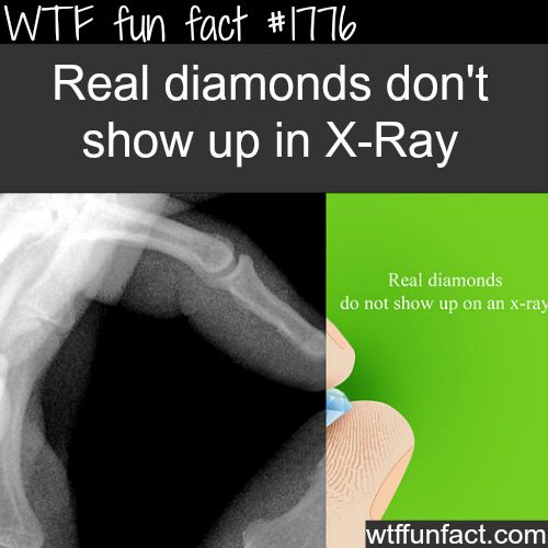 How to tell if it's a real diamond - WTF fun facts