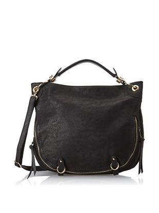 40% OFF David Jones Women's Buckled Hobo Bag, Black