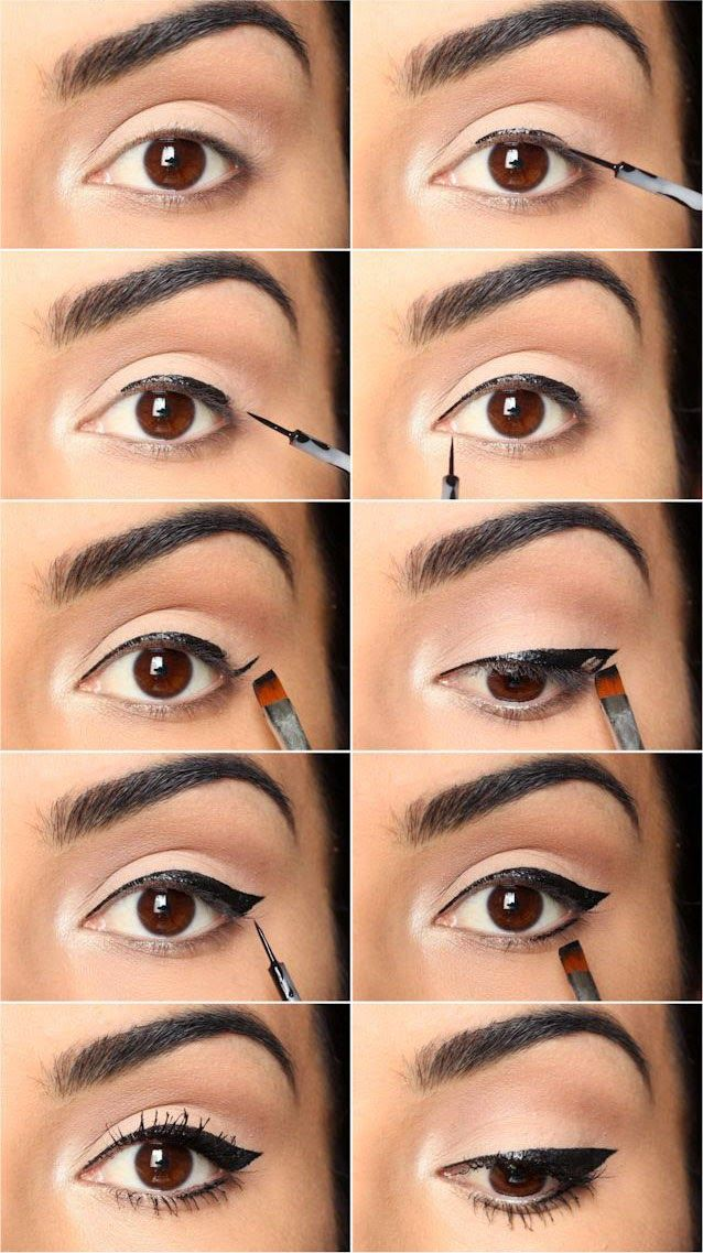 The Easiest Eyeliner Tricks and Tips - USA Fashion Trends