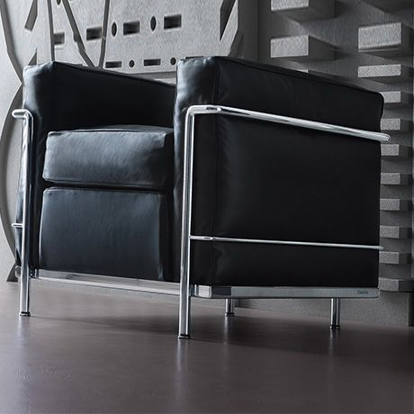 LC2 Armchair by Le Corbusier, Pierre Jeanneret and Charlotte Perriand by Cassina | MONOQI #DesignIcons