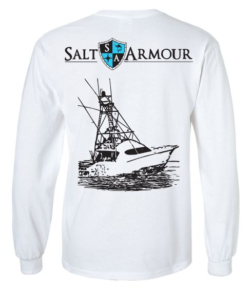 17 best images about salt armour on pinterest stitching for Saltwater fishing shirts