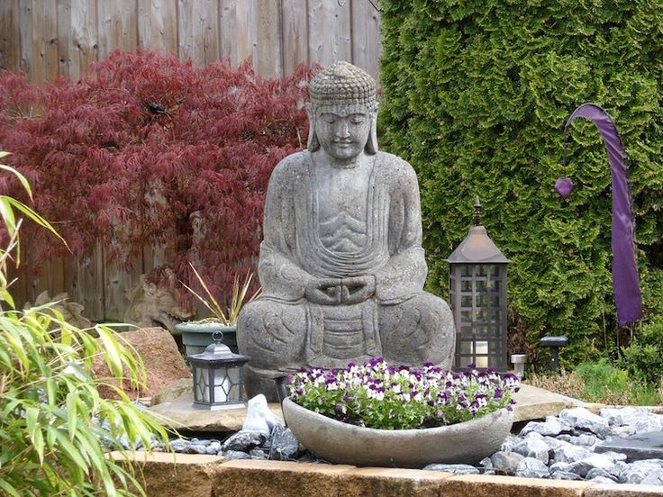 Statue de jardin pas cher - Statue bouddha jardin pas cher ...