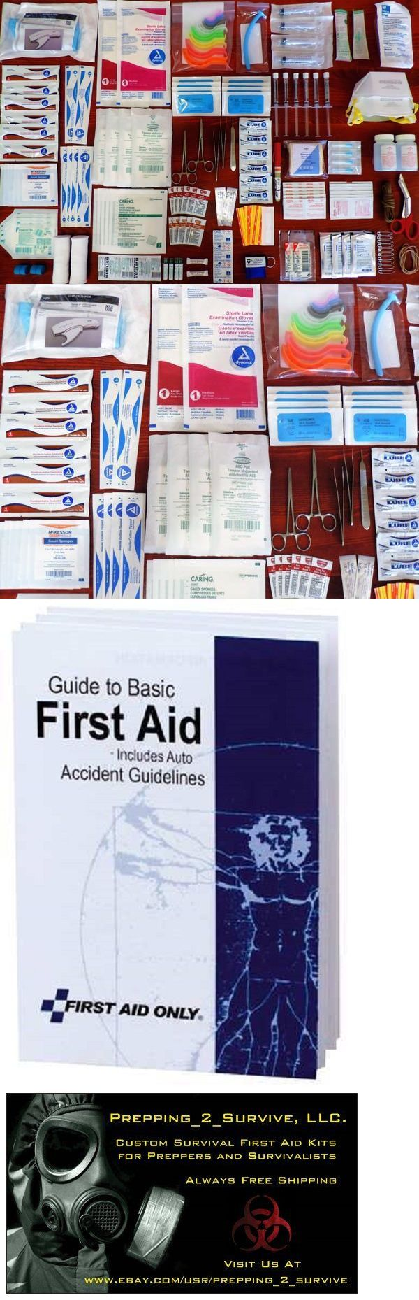 Other Emergency Gear 181415: Surgical Tactical Survival First Aid Kit Suture Set Skin Stapler Medical Outdoor -> BUY IT NOW ONLY: $118.75 on eBay!