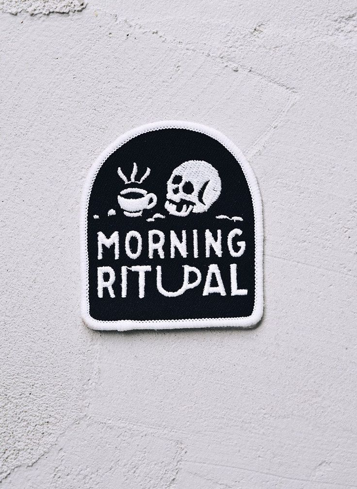 Morning Ritual Coffee Patch