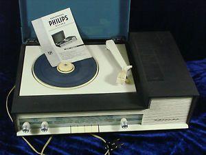 Tourne Disque Ancien Philips Fonctionne   eBay