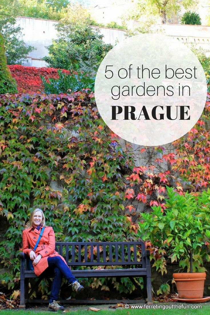 Prague's lush gardens offer a quiet respite from the crowds, and provide the perfect vantage point for admiring the city's sweeping beauty.