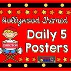 These are the perfect posters for your Hollywood themed classroom!   Included in this freebie are 5 header posters for your Daily 5 stations:  Read...