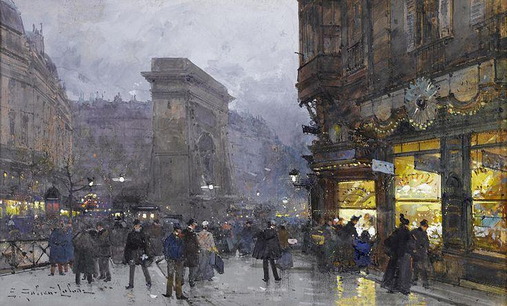 File:Eugène Galien-Laloue Paris Porte Saint-Denis 8.jpg