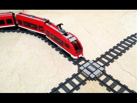 HOWTO Create a LEGO Train X-cross - YouTube