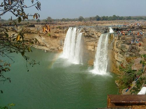 Chitrakoot Falls, #Raipur #Chhattisgarh Keeps You Mesmerized - India is famous for its innumerable and spectacular #waterfalls and Chitakoot Waterfall is one among them that attracts lots of tourists with its enchanting beauty. It is often called the Niagara of #India and is the largest waterfall in the country. #wanderlust #destination #travel #attraction