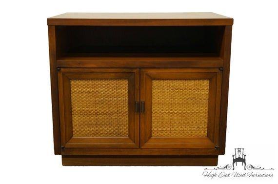 Lane Furniture Alta Vista Va Asian Inspired Mid Century Modern 26 Cabinet Nightstand 371 31 In 2020 Lane