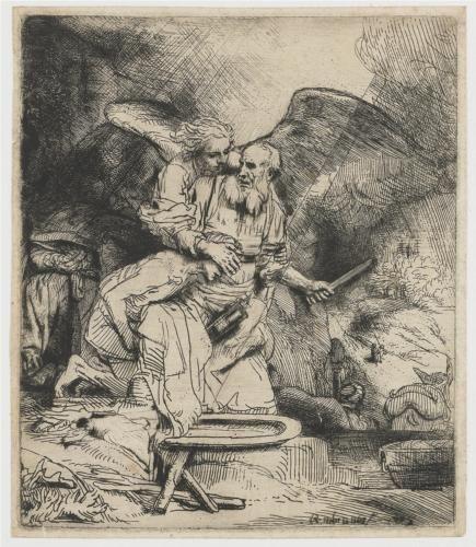 Abraham's Sacrifice - Rembrandt 1655
