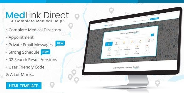 awesome Medical doctor Directory - HTML Template (Corporate)