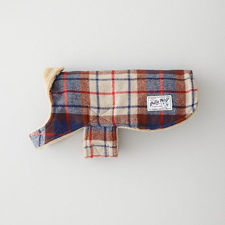 porter plaid dog coat. I NEED THIS FOR WOLF!!