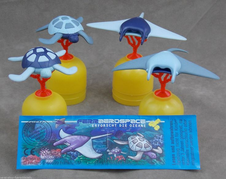 Ueei Ferrero 1999 Satz Ferraerospace Ozean Tiere Des Meeres Auswahl BPZ Variante | eBay