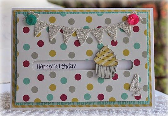 Papercraft Designs: Cupcake Spinner Card