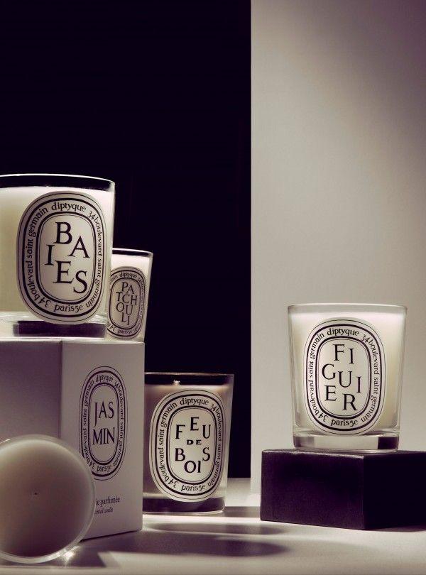 bougies dyptique...j'adore...