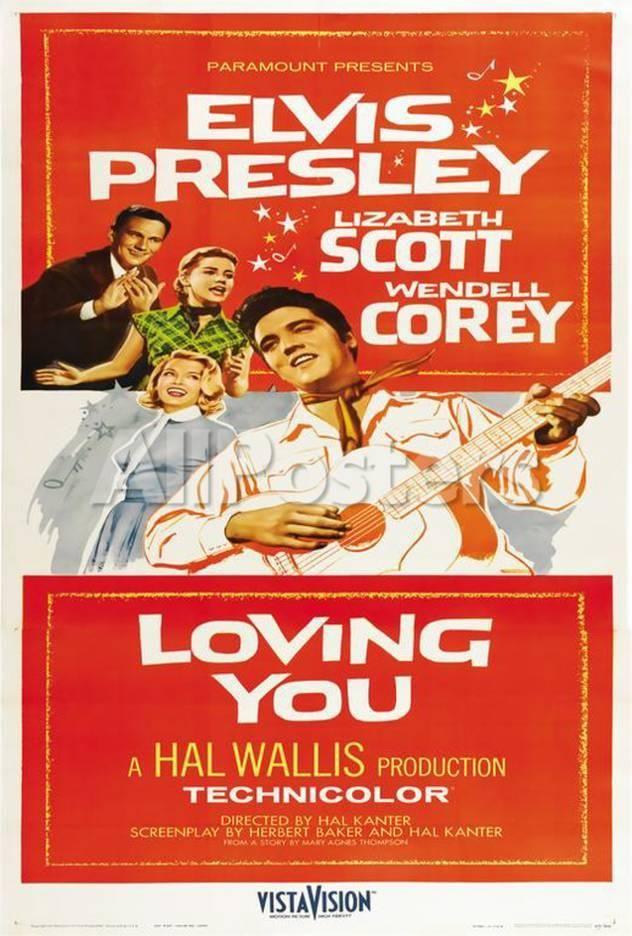 fd08b8f44b758 Loving You Movies Poster - 69 x 102 cm | Design Grafico | Movie ...