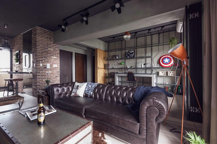 Gorgeous apartment design with heroes theme... | Visit : roohome.com  #apartment #design #decoration #amazing #awesome #gorgeous #great #fabulous #great #elegant