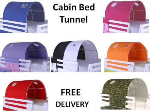 Cabin-Bed-Mid-Sleeper-Bunk-Loft-Tunnel-Tent-Only