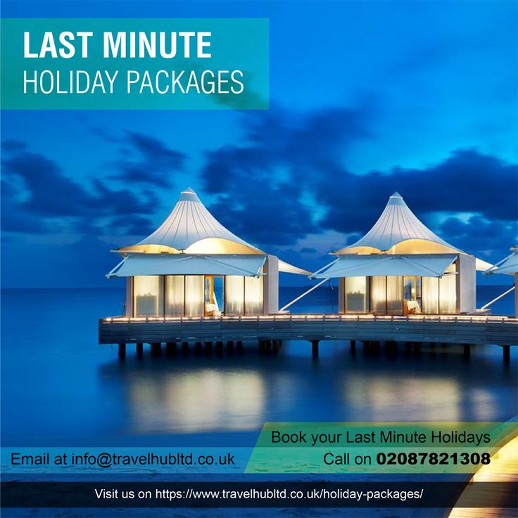 Last Minute Holiday Deals  Quality Assured Holiday Packages For Single & Multi Trip Travel Plans Available on Travel Hub. Our best guaranteed prices will give you great deals at your budget. Visit us on https://www.travelhubltd.co.uk/holiday-packages/ We're here for your services by 24/7 only at 02087821308