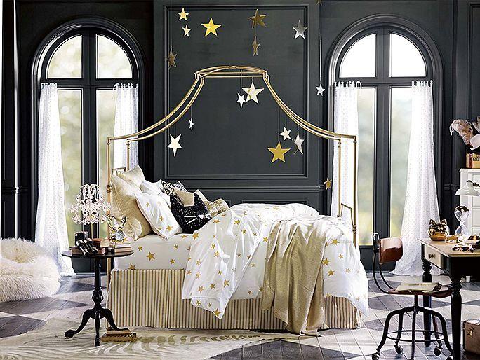 I love the PBteen Emily & Meritt Scattered Stars Bedroom on pbteen.com