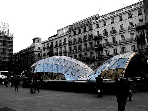 Boca de Metro en Puerta del Sol