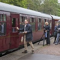 """It was an exciting start to 2016, the Churnet Valley Railway played a prominent role in a hit BBC series this week. The seventh series of Michael Portillo's popular """"Great British Railway Journeys"""" Can you spot it? Click the link and find out:"""