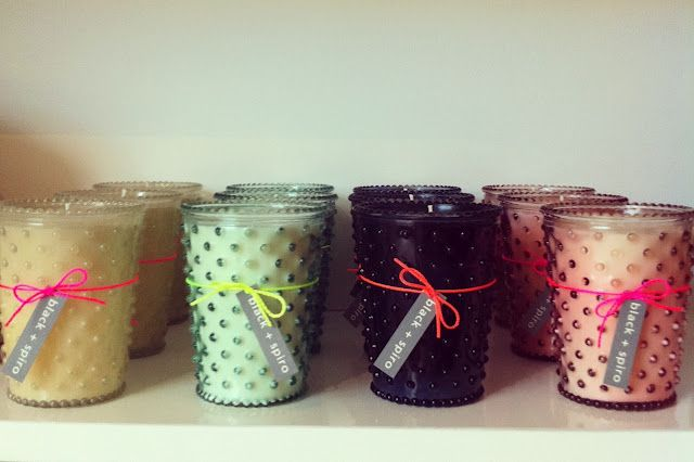neon string: Color, Hobnail Candles, Decor Candles, Candles Jars, Absolutely Beautiful, Parties Favors, Display Ideas, Beautiful Things, Pretty Candles
