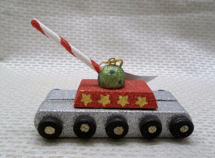 Military Tank Christmas Ornament New with Tags #Christmas